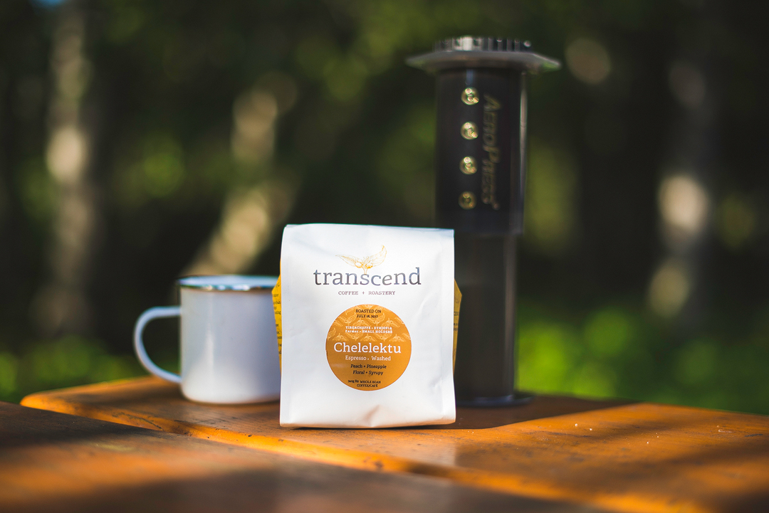 Aeropress et transcend coffee