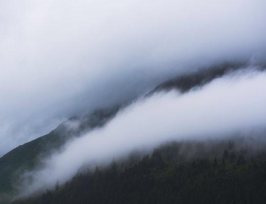 Pluie en Alaska.