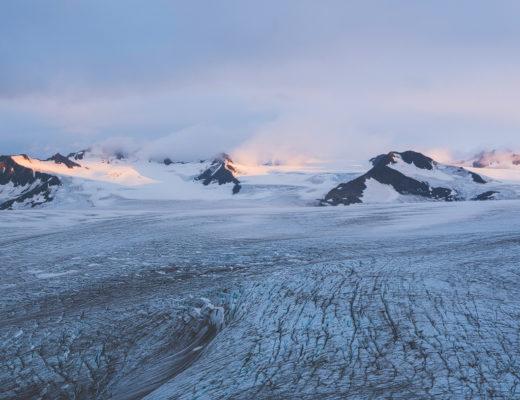 glacier, harding, kenai, fjord, national park, usa