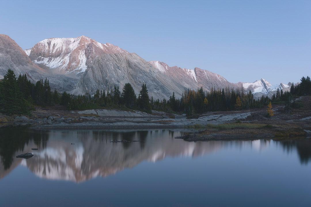 alberta, skoki, baker lake, banff national park