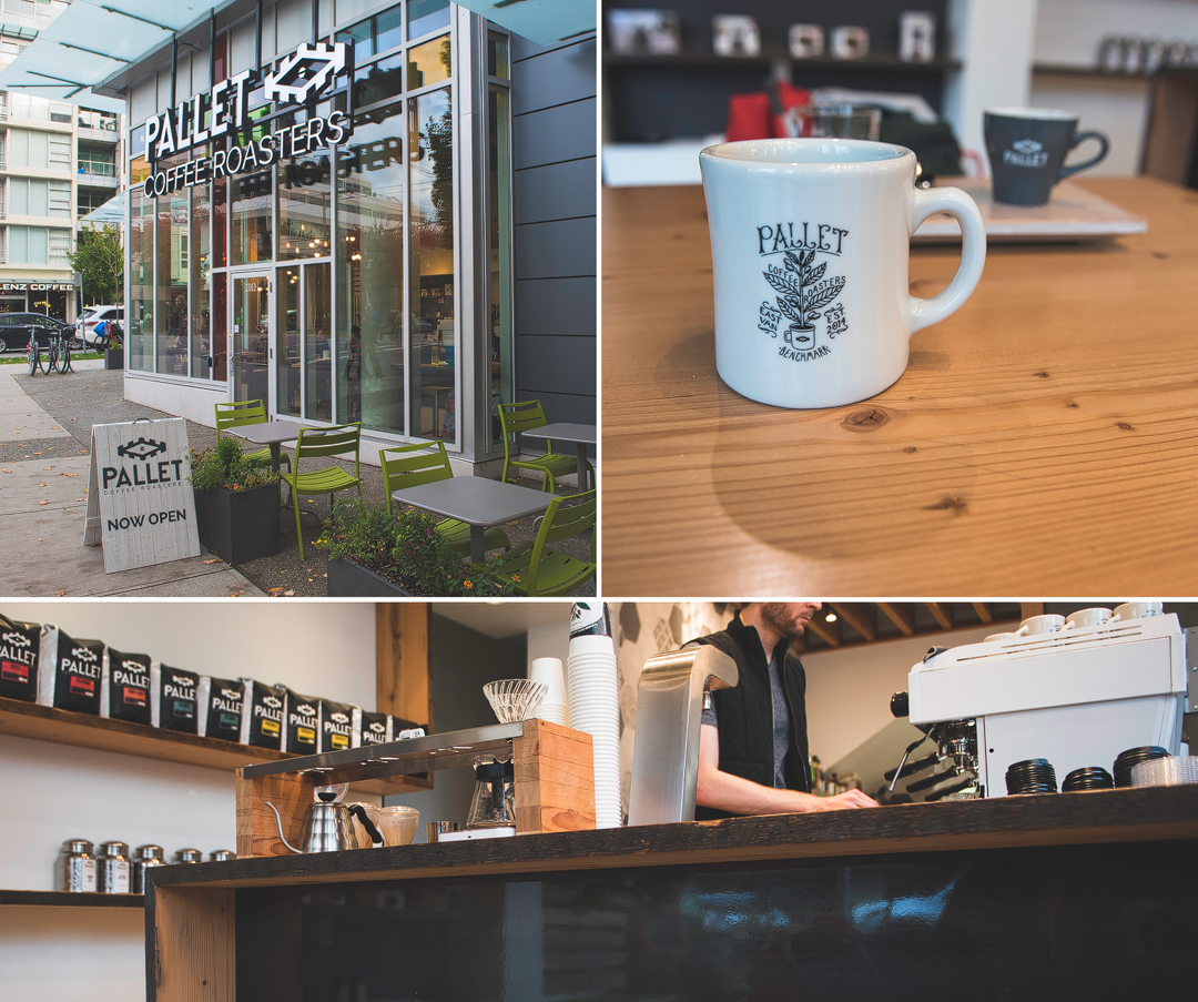 Pallet, coffee, vancouver